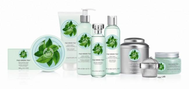 Η πλήρης σειράς Fuji Green Tea της The Body Shop