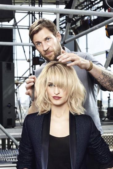 O James Rowe επιμελείται το hair styling της Alice Dellal