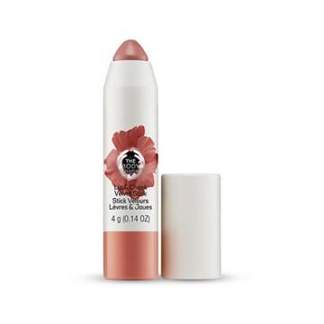 The Body Shop Lip & Cheek Velvet Stick-Poppy nude, λάμψη και χρώμα σε ζυγωματικά και χείλη στη στιγμή!