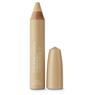 The Body Shop Concealer Pencil (ιδανική μορφή σε μολύβι για το τρικ με το σχηματισμό των φρυδιών)