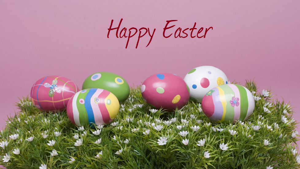Easter-eggs-on-flowery-grass