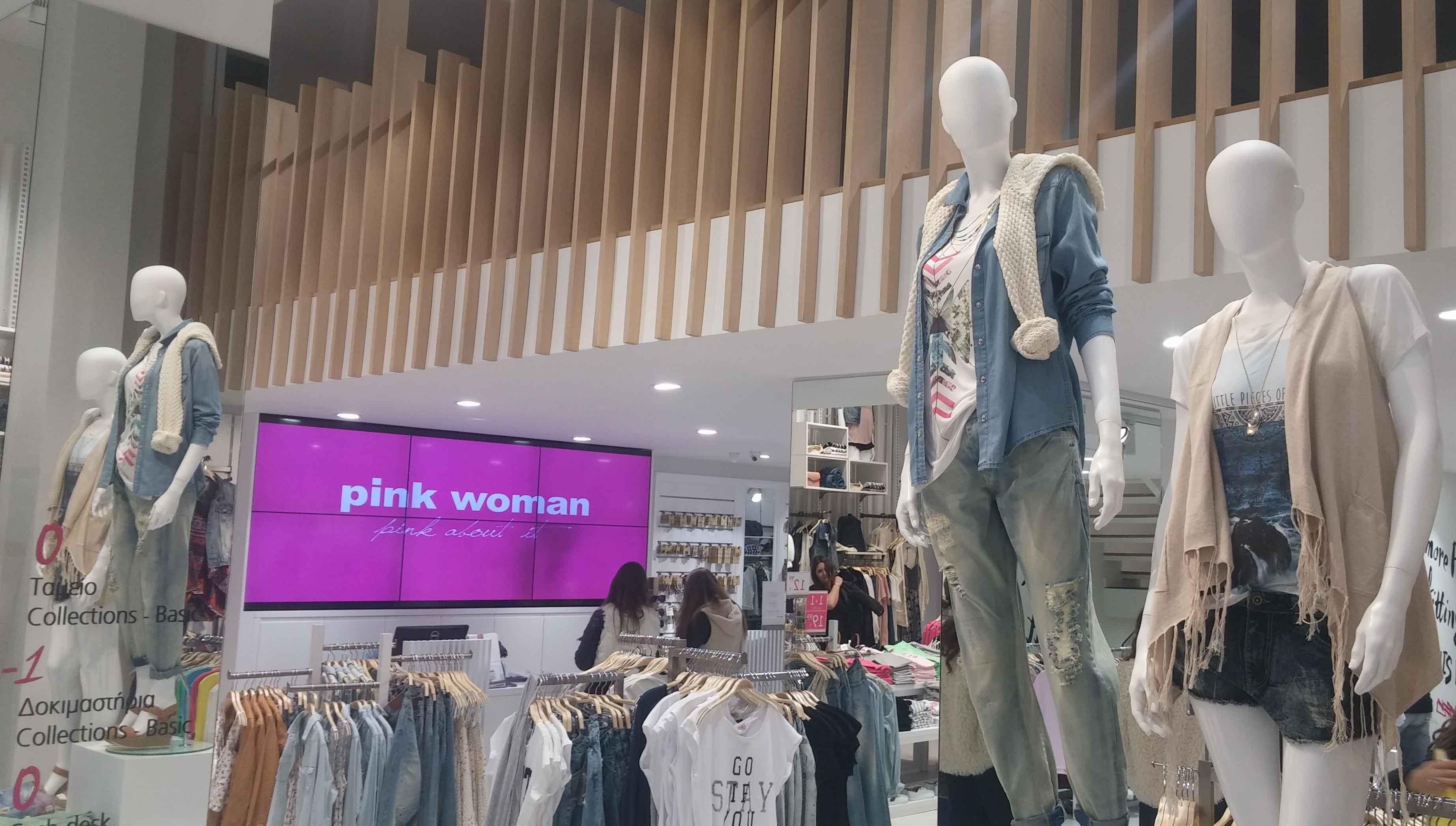 LG Signage case study_Pink woman 1