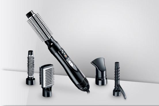 AS1201 - Amaze βούρτσα θερμού αέρα της Remington 5 σε 1 θερμικού αέρα styler για να δώσει στα μαλλιά σας φυσικό όγκο. Με 3 επιλογές θερμότητας, ισχυρή δράση 1200 Watt, ιονικό για λάμψη χωρίς φριζάρισμα και κεραμική γρίλια για ακόμα καλύτερη κατανομή θερμότητας