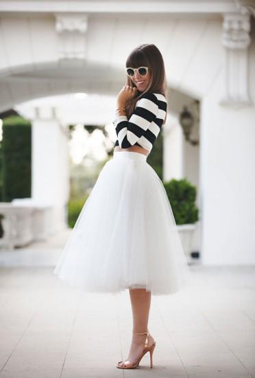 Τούλινη φούστα