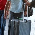 EXCLUSIVE Antonio Banderas arrives at LAX (Los Angeles International) airport