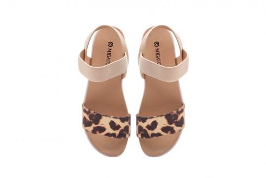 Πέδιλα με leopard print Migato