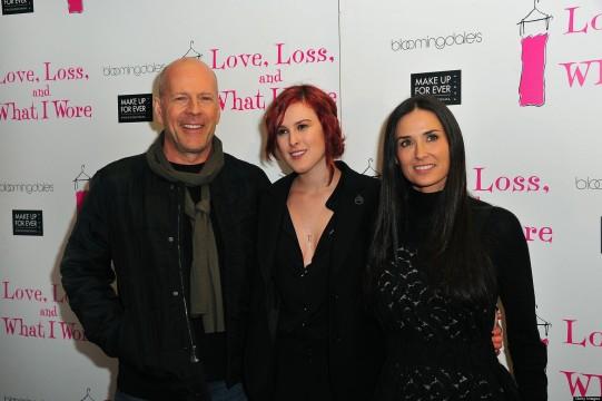 Bruce Willis και Demi Moore με την κόρη τους Rummer