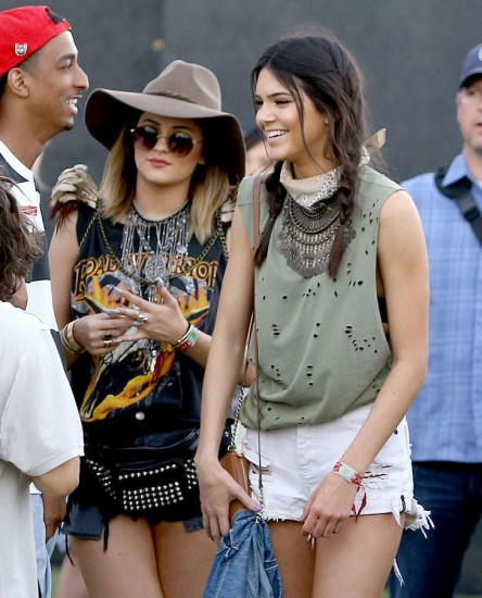 Το νέο It Girl, Kendall Jenner στο Coachella Fesival