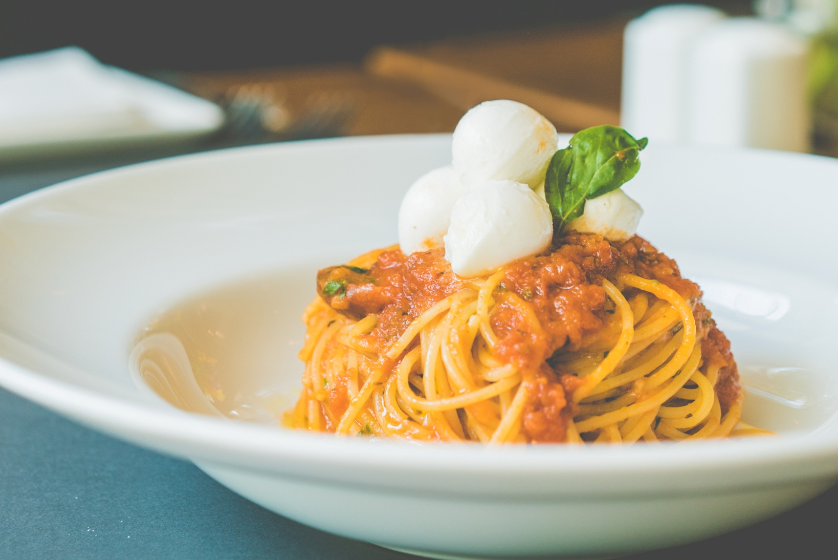 Spaghetti Pomodoro e Mozzarella_TESORO MIO