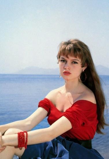 Brigitte Bardot τη δεκαετία του '50