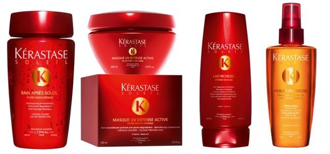 Η σειρά προϊόντων Kérastase Soleil