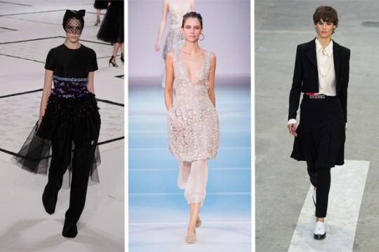 Giambattista Valli, Giorgio Armani, Chanel Spring 2015 ready-to-wear collections