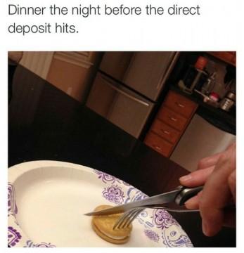 Το τελευταίο πλούσιο δείπνο σου!
