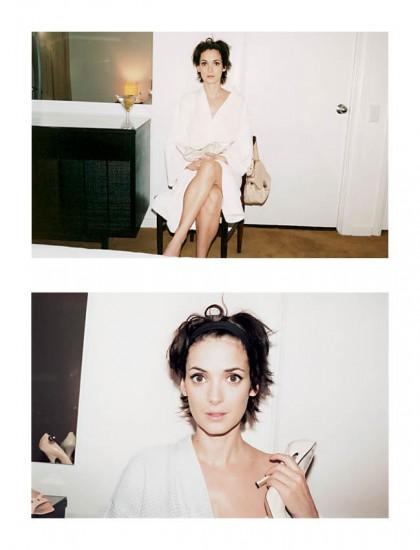 Η Winona Ryder φωτογραφίζεται από τον Marc Jacobs