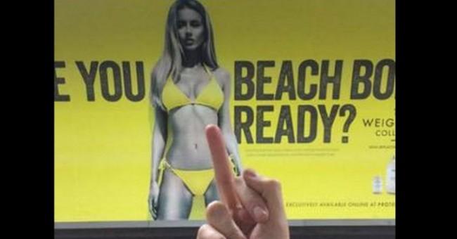 Οι viral αντιδράσεις στην αφίσα του brand Protein World που αναρωτιέται αν το σώμα μας είναι έτοιμο για την παραλία...