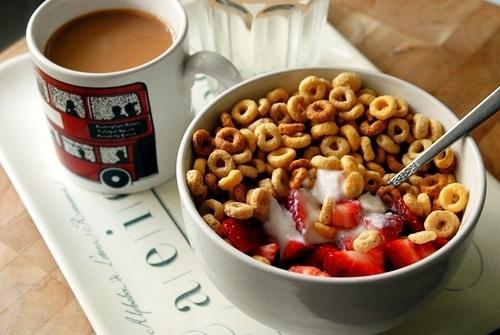 Πρωινό με δημητριακά