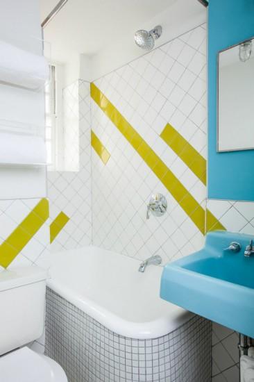 Χρώμα σε μικρό μπάνιο