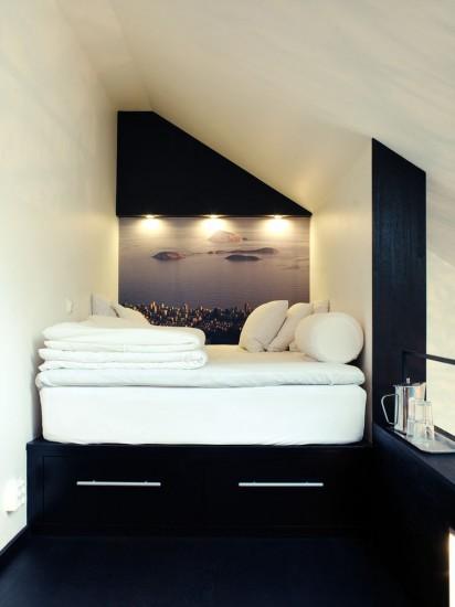 Ασπρόμαυρο δωμάτιο