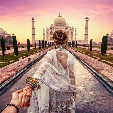 #followmeto στην Ινδία