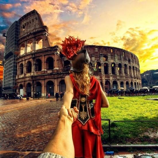 #followmeto στη Ρώμη