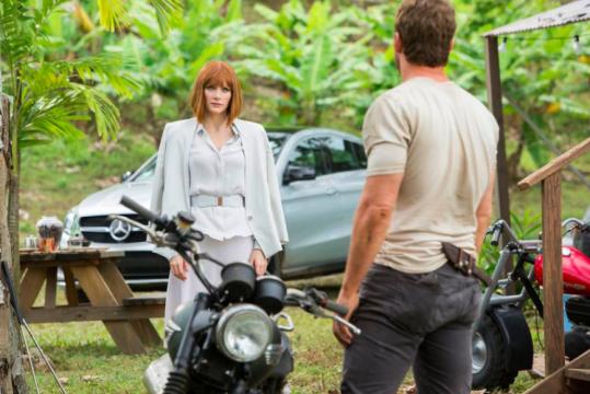 Σκηνή από την ταινία Jurassic World