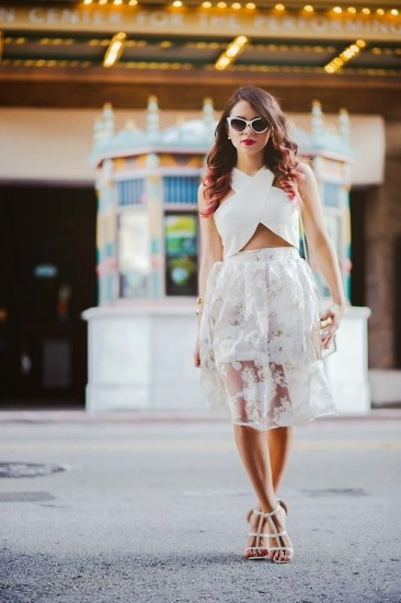 midi-skirt-crop-top-bridal