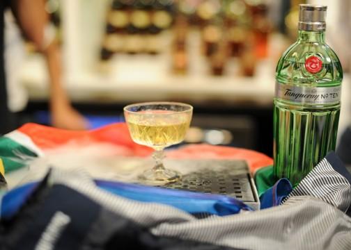 """Το cocktail με τίτλο """"Spiral Martini"""" που ετοίμασε ο νικητής στην τελική δοκιμασία """"The Time Traveller"""""""