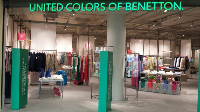 Νέο On Canvas concept store της United Colors of Benetton στο River West
