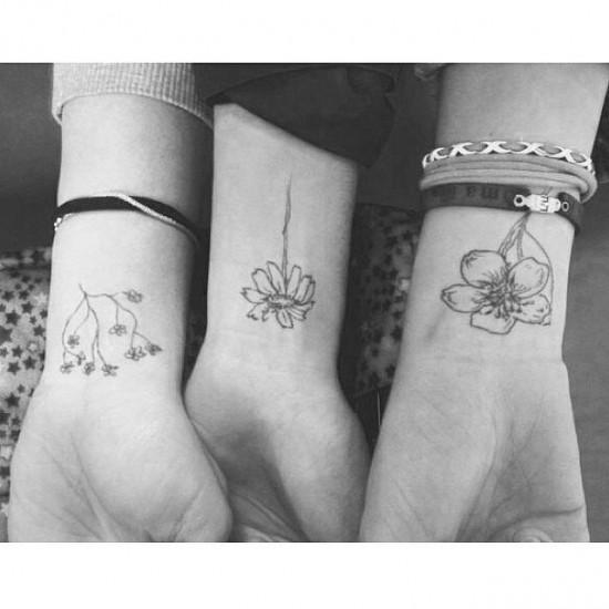 Blossoms-best-friends-tattoos