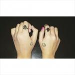 Good-Luck-Charm-best-friends-tattoo