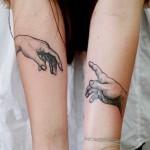 Michelangelo-Masterpiece-best-friends-tattoos