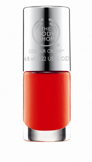The Body Shop Colour Crush nail polish collection-#210 Just Peachy