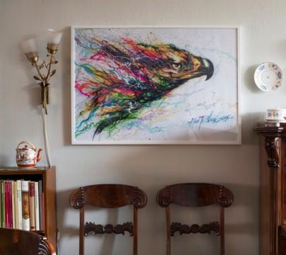 Δεν έχετε παρά να διαλέξετε την αγαπημένη σας γωνιά στο σπίτι και να δοκιμάσετε τη σύσταση του μεγάλου ζωγράφου. Έτσι, κι αλλιώς η τέχνη πρέπει να αντανακλά τα αισθήματα του ανθρώπου και το σπίτι είναι το καταφύγιο τους!