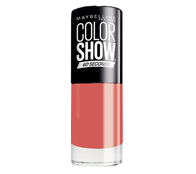 Color Show Maybelline NY 60 seconds - #342 Coral Craze