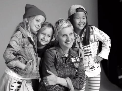 Ellen DeGeneres-Gap Kids