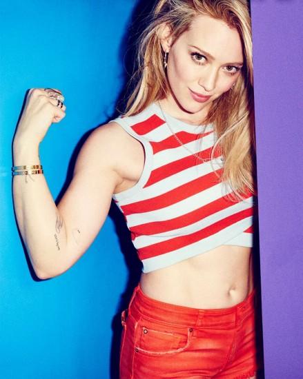 Hilary Duff-στερεότυπα ομορφιάς