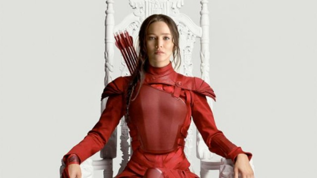 H Jennifer Lawrence ως Katniss στις ταινίες Hunger Games