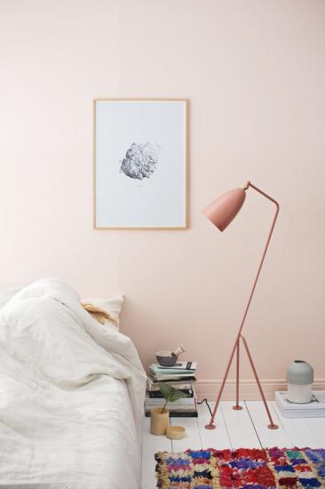 Διακόσμηση σε ροζ σταχτί