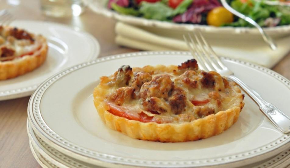 sausage-tart