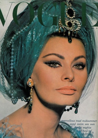 Sophia-Loren-Vogue-1965