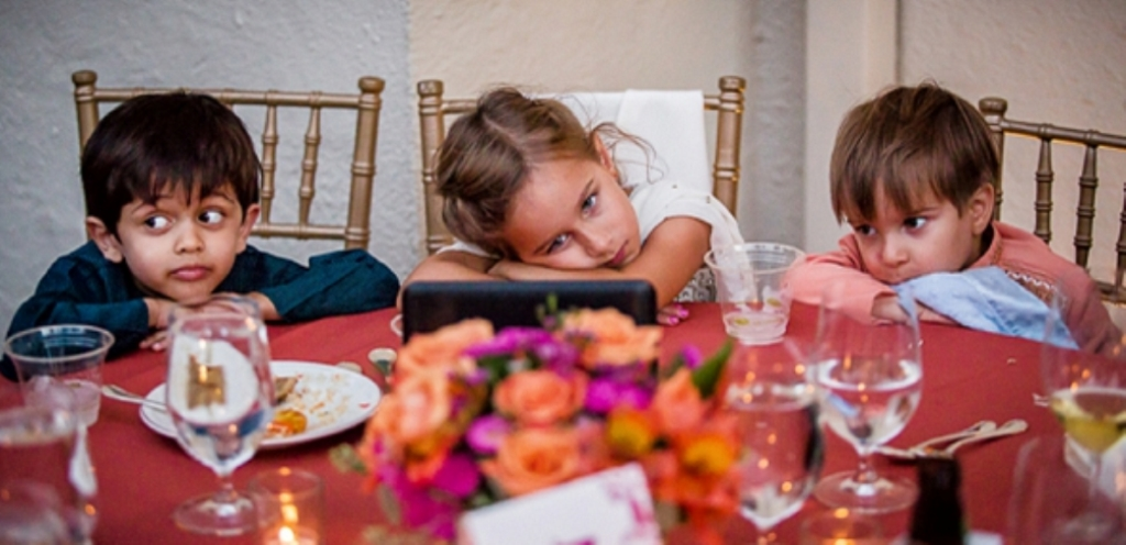 παιδιά σε γάμο