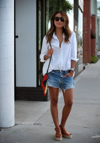 white-shirt-denim-shorts-2