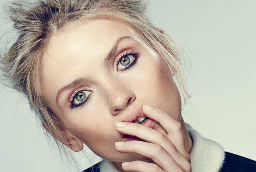 makeup look-κάτω γραμμή eyleliner