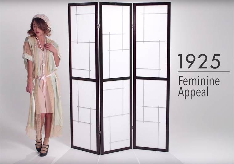 100 χρόνια γυναικεία εσώρουχα