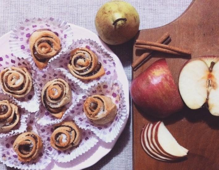 γλυκό με μήλο