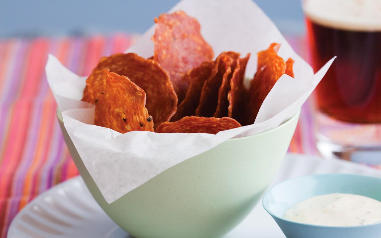 chips salami