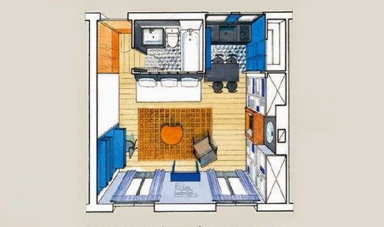 λύσεις μικρό διαμέρισμα