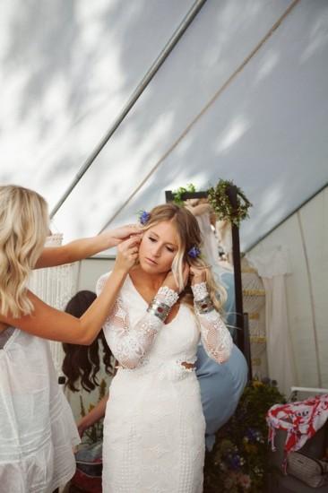 boho νύφη