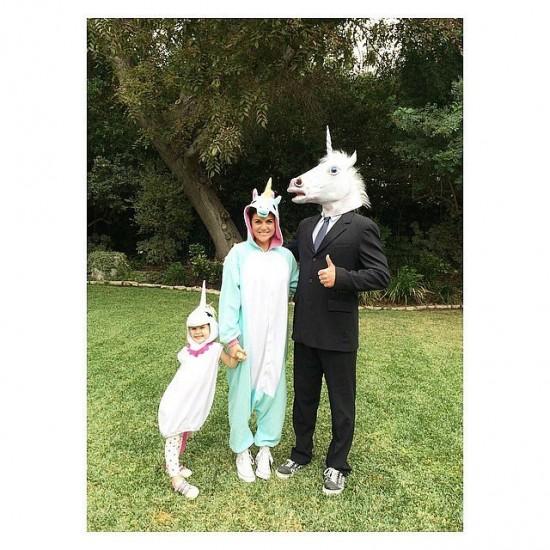 Η Tiffani Thiessen και οι μονόκεροι τη ζωής της