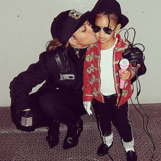 Beyonce και Blue Ivy έτοιμες Janet και Michael Jackson